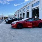 Model S event Langley