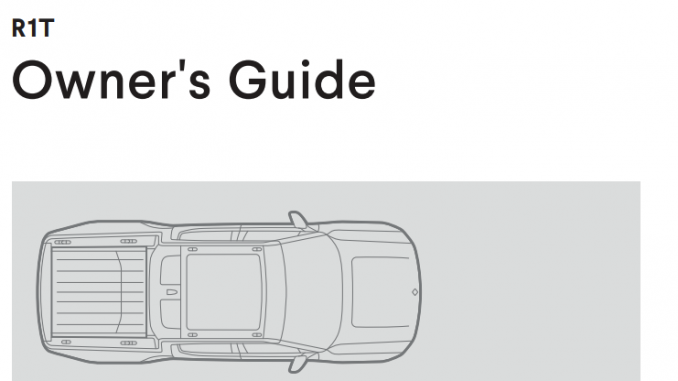 Rivian Owners Guide