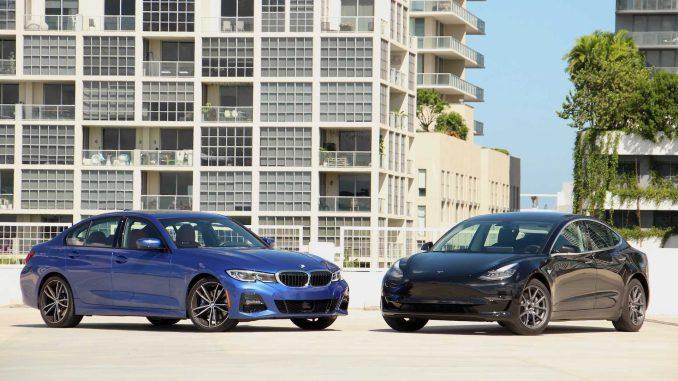 BMW Tesla Model 3