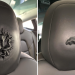 Tesla Model 3 bubbling headrests